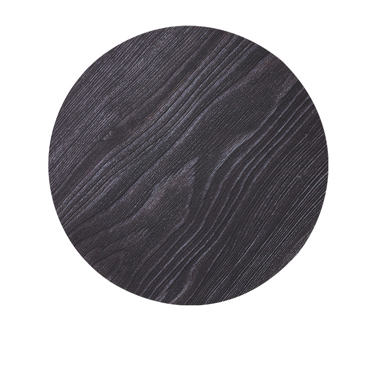 Kitchen Warehouse Forest Round Placemat 35cm Black