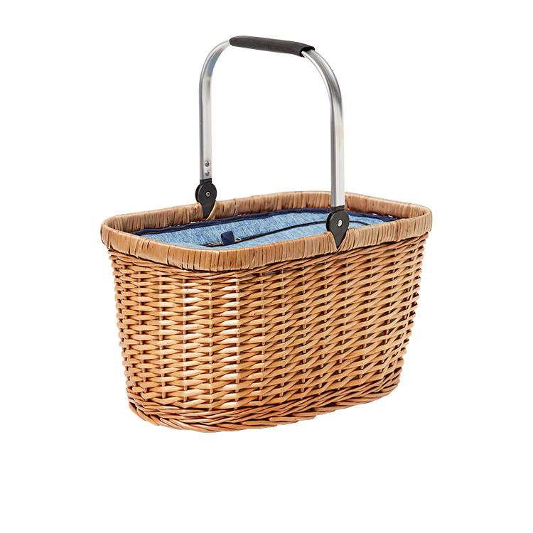 Kitchen Warehouse Oak Carry Basket Denim