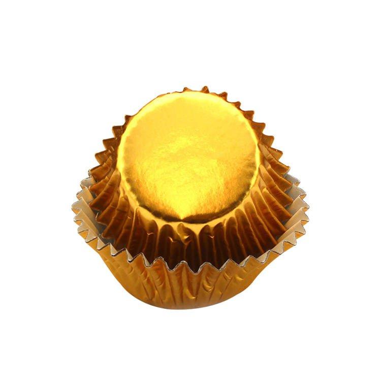 Lemon Tree Patty Pans Gold 50pk