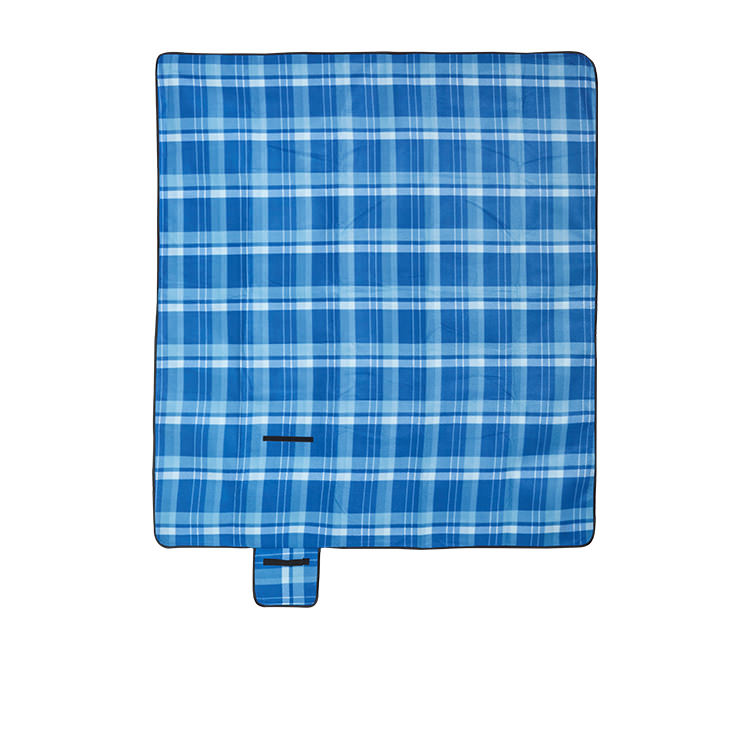 Kitchen Warehouse Picnic Blanket XL Jacquard Blue