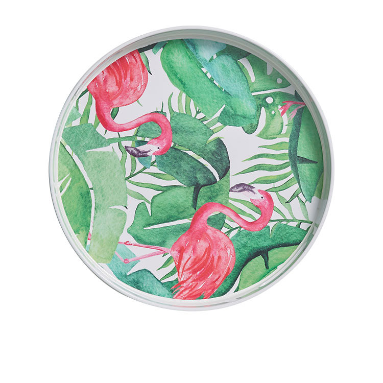 Kitchen Warehouse Round Tray 37.5x4.5cm Tropical