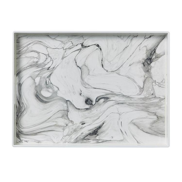 Kitchen Warehouse Tray 48x35cm Marble