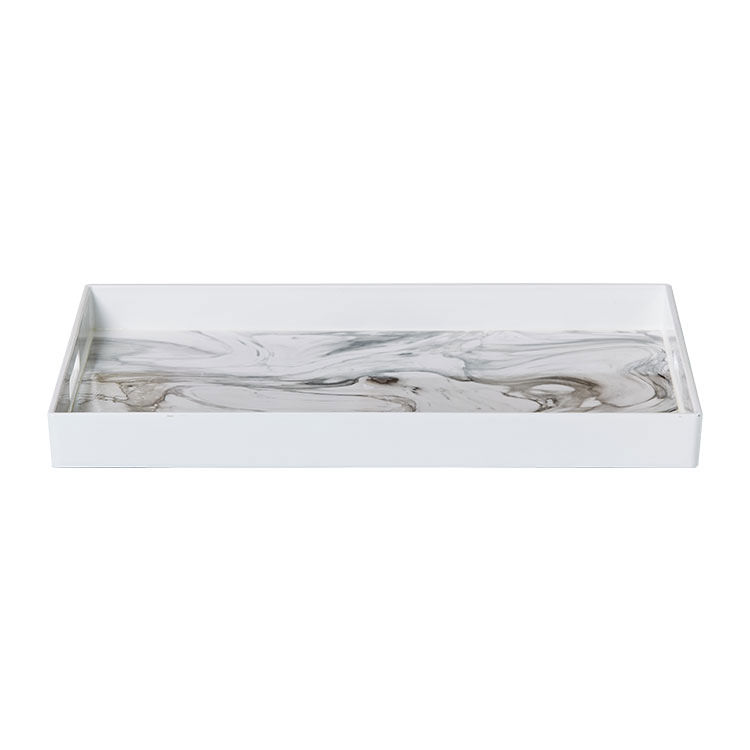 Kitchen Warehouse Tray 48x35cm Marble