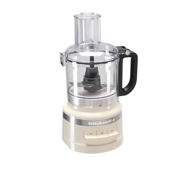 KitchenAid 7 Cup Food Processor Almond Cream