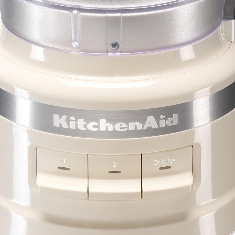 KitchenAid 9 Cup Food Processor Almond Cream image #3