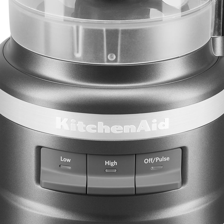 KitchenAid 9 Cup Food Processor Contour Silver