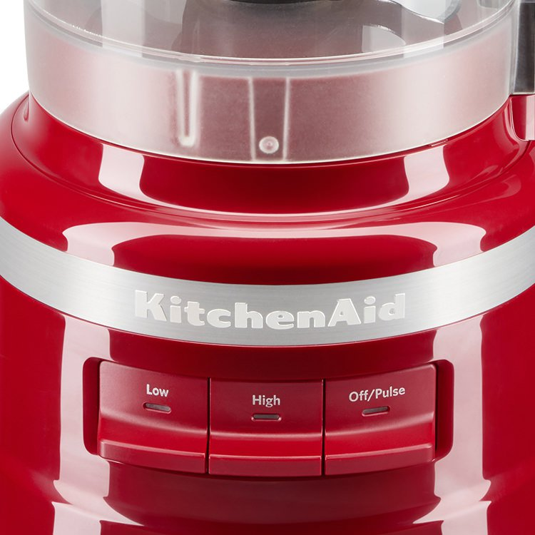 KitchenAid 9 Cup Food Processor Empire Red