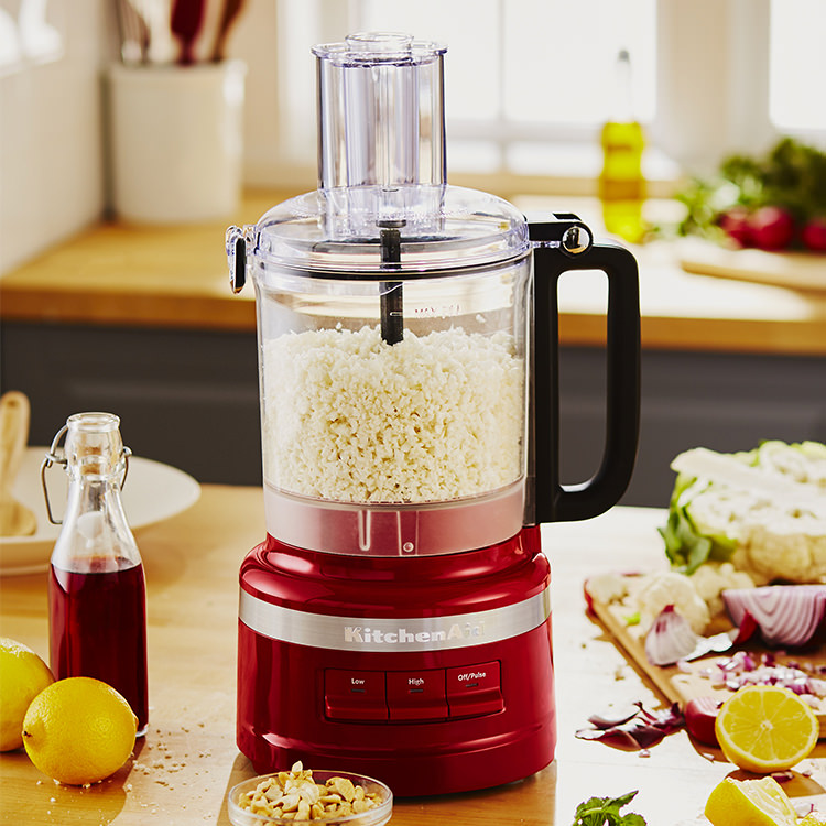 KitchenAid 9 Cup Food Processor Empire Red
