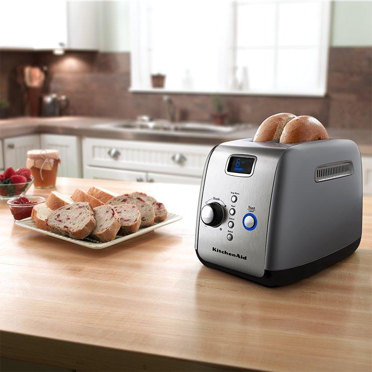KitchenAid Artisan 2 Slice Toaster Contour Silver image #6