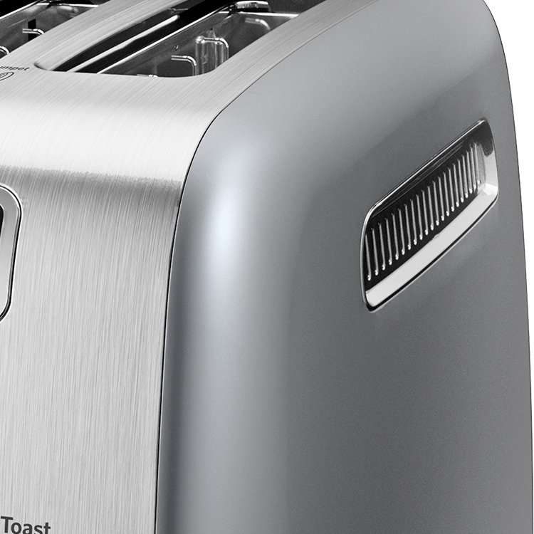 KitchenAid Artisan 2 Slice Toaster Contour Silver image #2