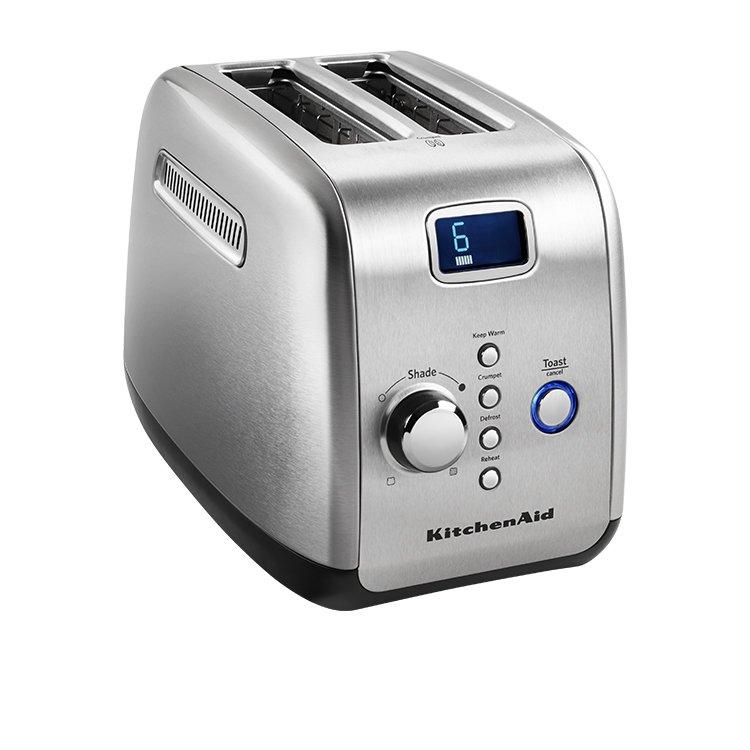 KitchenAid Artisan 2 Slice Toaster Contour Silver