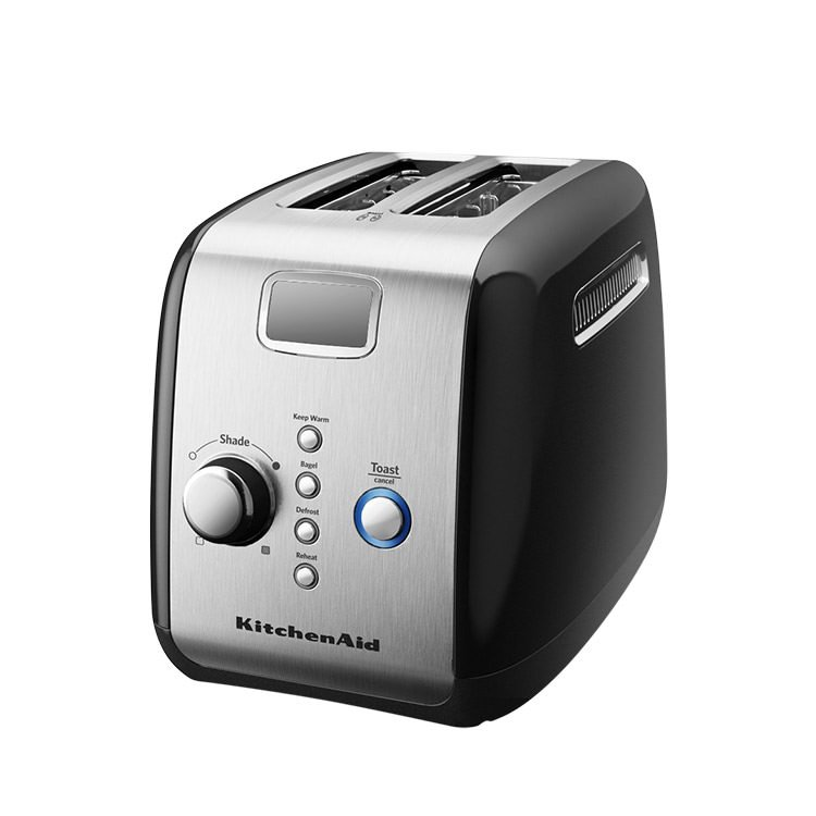 Black Kitchenaid Toaster: KitchenAid Artisan 2 Slice Toaster Onyx Black