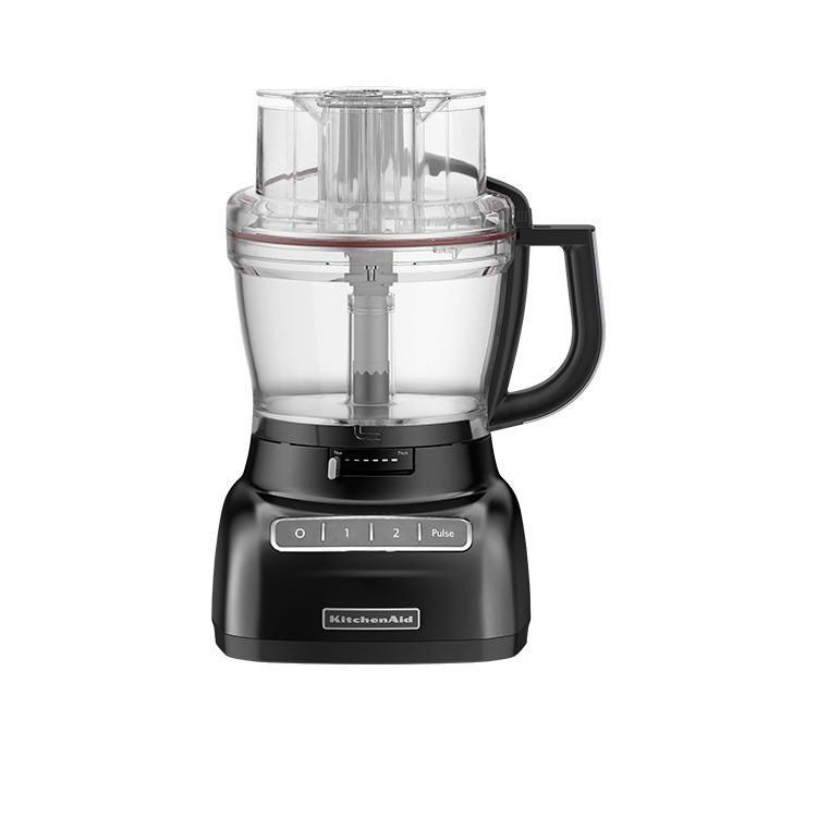 Nice KitchenAid Artisan Exactslice KFP1333 Food Processor Onyx Black $367.00