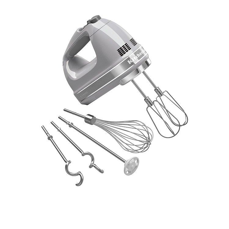 KitchenAid Artisan 9 Speed Hand Mixer Contour Silver