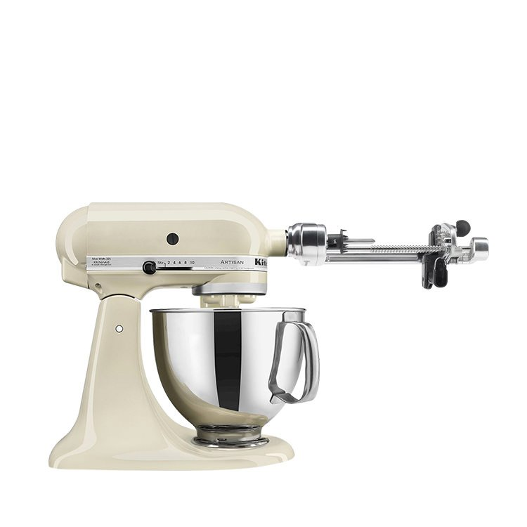 KitchenAid Artisan KSM150 Stand Mixer Almond Cream w  -> Kitchenaid Spiralizer