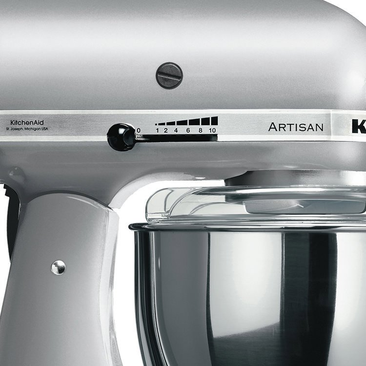 KitchenAid Artisan KSM150 Stand Mixer Contour Silver