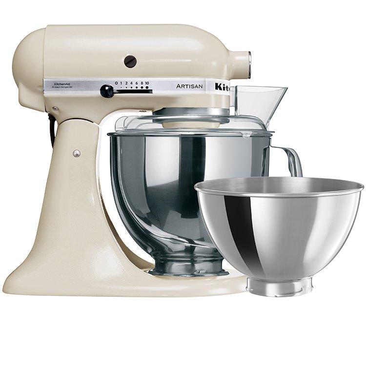 KitchenAid Artisan KSM160 Stand Mixer Almond Cream