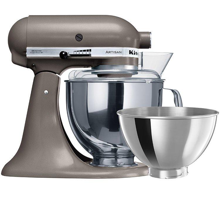 KitchenAid Artisan Mixer KSM160 Stand Mixer Cocoa Silver