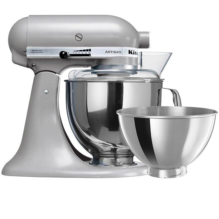 KitchenAid Artisan KSM160 Stand Mixer Contour Silver