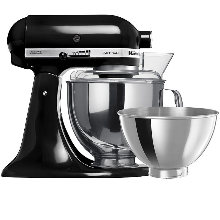 KitchenAid Artisan KSM160 Stand Mixer Onyx Black - Buy Now & Save!