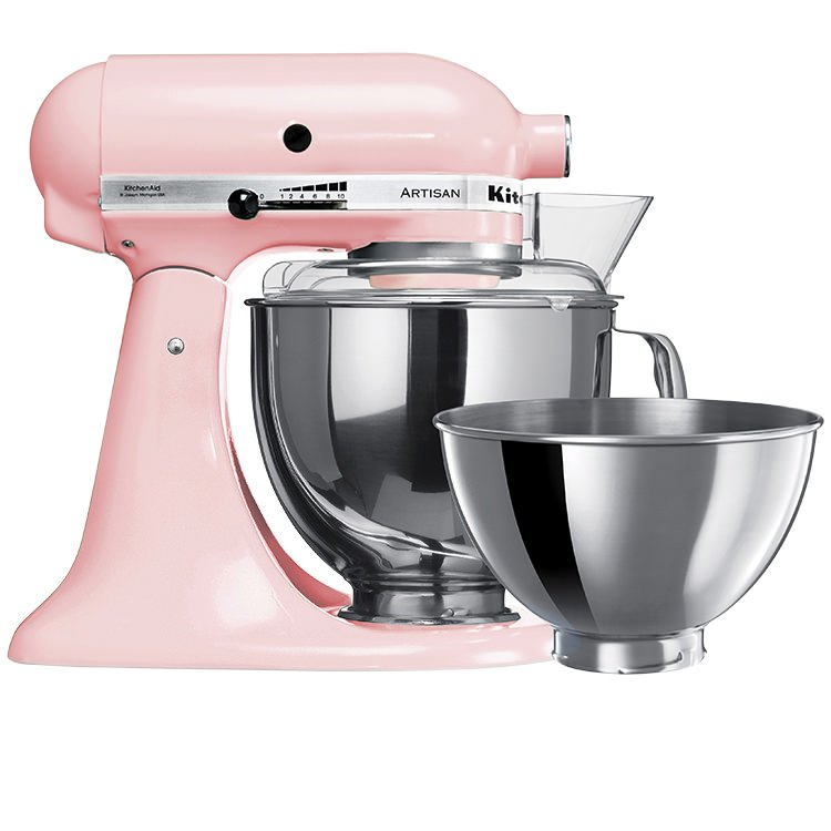 kitchenaid artisan mixer ksm160 stand mixer pink fast. Black Bedroom Furniture Sets. Home Design Ideas