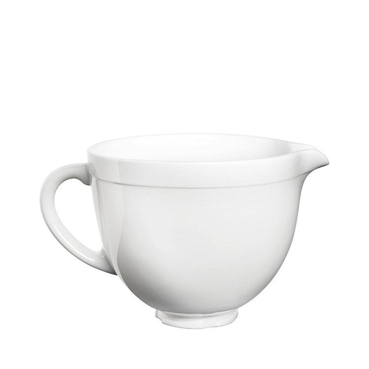 KitchenAid Ceramic Bowl White Chocolate