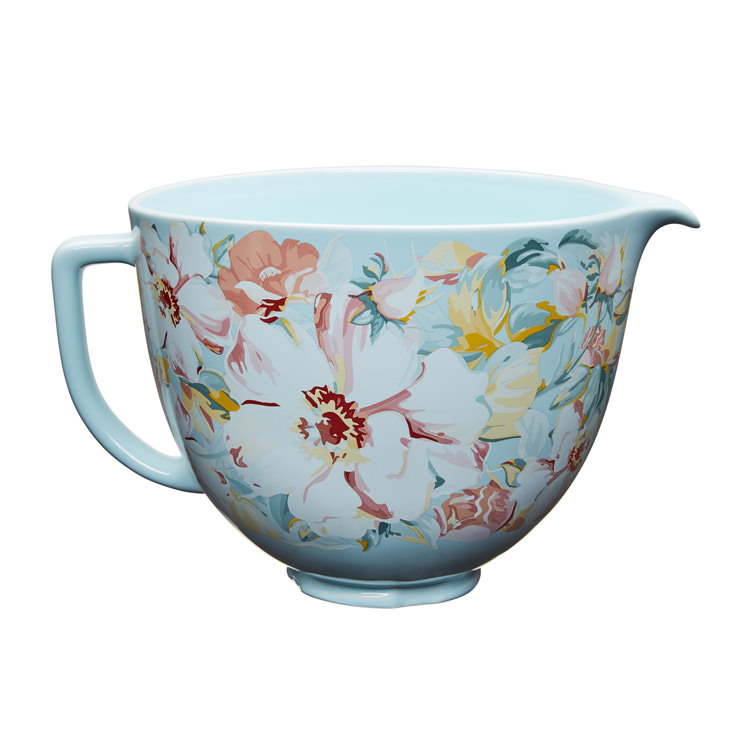 KitchenAid Gardenia Ceramic Bowl for Tilt-Head Stand Mixer 4.7L