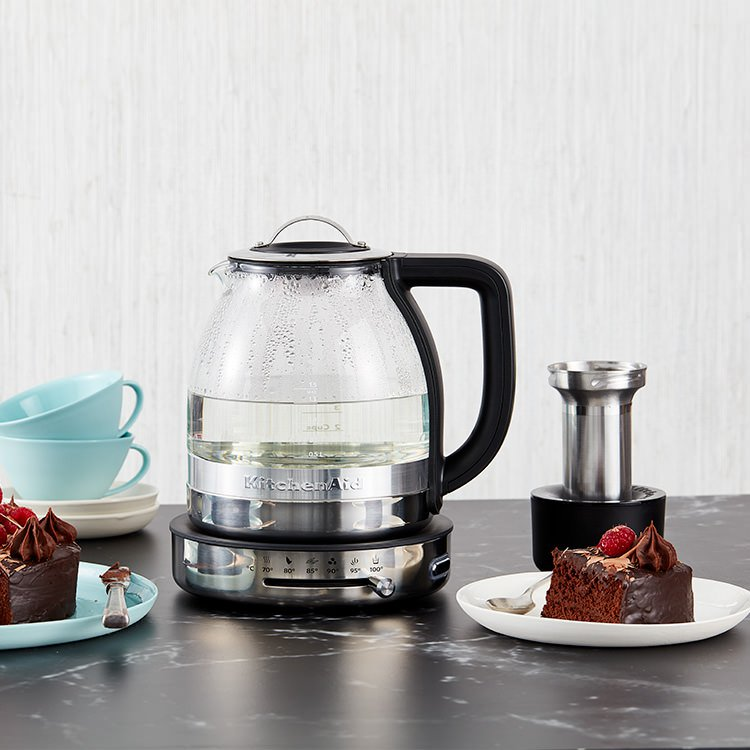 Kitchenaid Glass Tea Electric Kettle 1 5l Fast Shipping