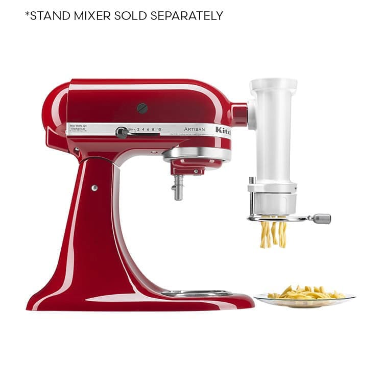 KitchenAid Gourmet Pasta Press w/ 6 Plates Attachment