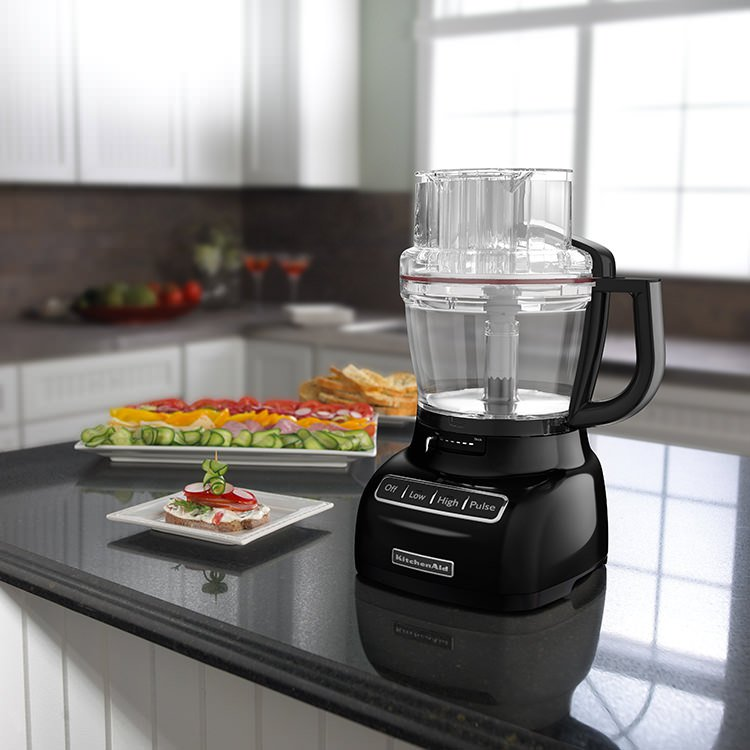 KitchenAid Artisan Exactslice KFP1333 Food Processor Onyx Black