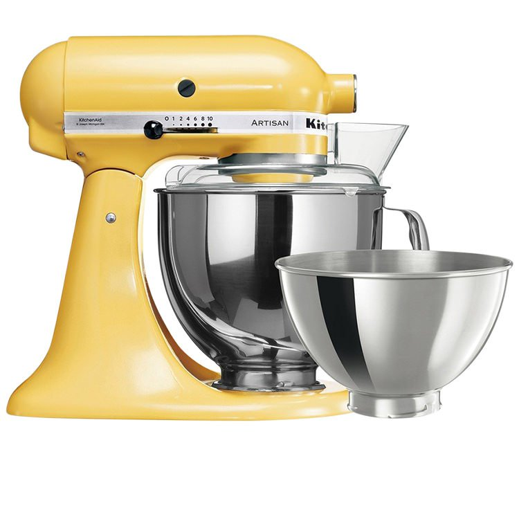 KitchenAid KSM160 Stand Mixer Majestic Yellow Limited Edition