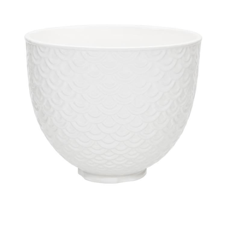 KitchenAid Mermaid Lace Ceramic Bowl for Tilt-Head Stand Mixer 4.7L