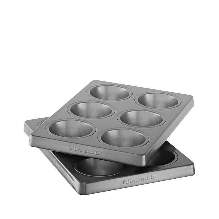 KitchenAid Muffin Pan 6 Cup Set of 2