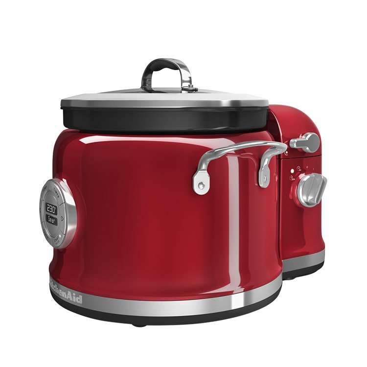 KitchenAid Multi Cooker with Stir Tower Candy Apple