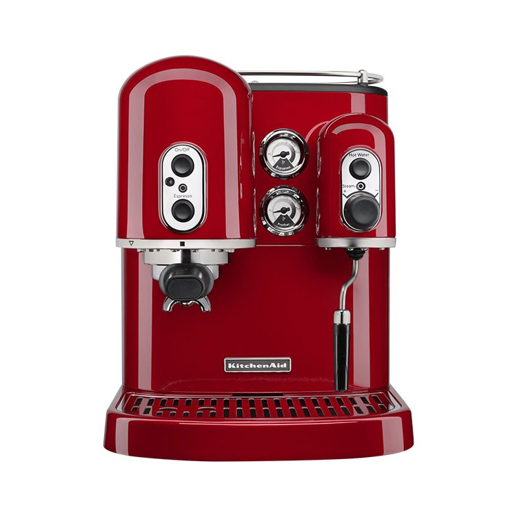 KitchenAid Pro Line Espresso Machine Candy Apple Red