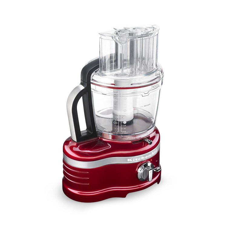 Kitchenaid pro line food processor candy apple red fast for Kitchenaid food processor
