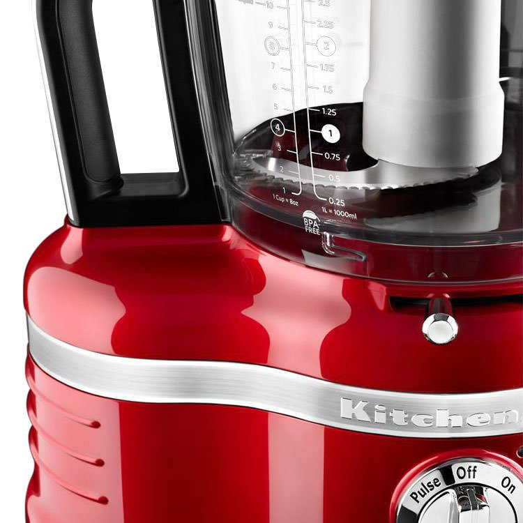 Kitchenaid 16 Cup Pro Line Food Processor Candy Apple Red