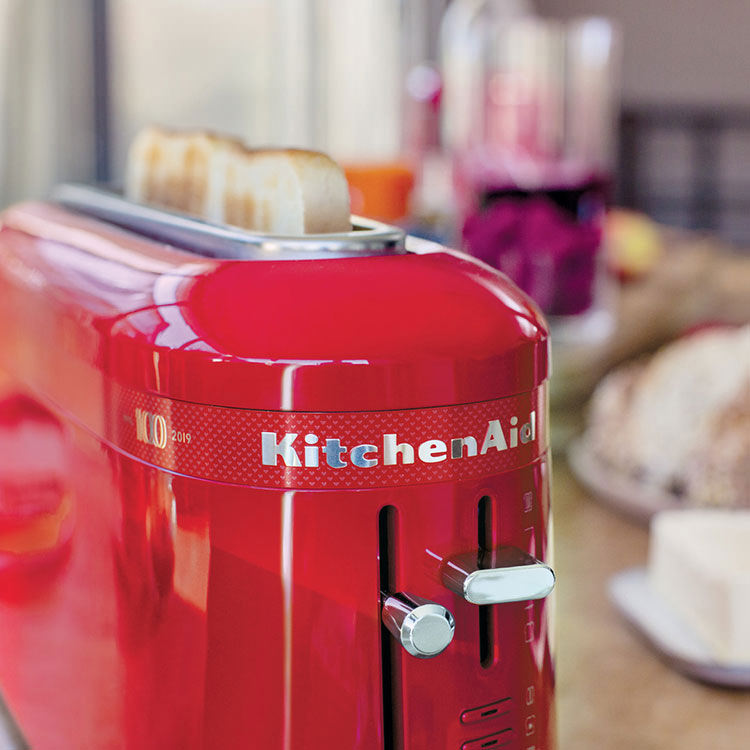KitchenAid 100 Year KMT3115 2 Slice Toaster Queen of Hearts