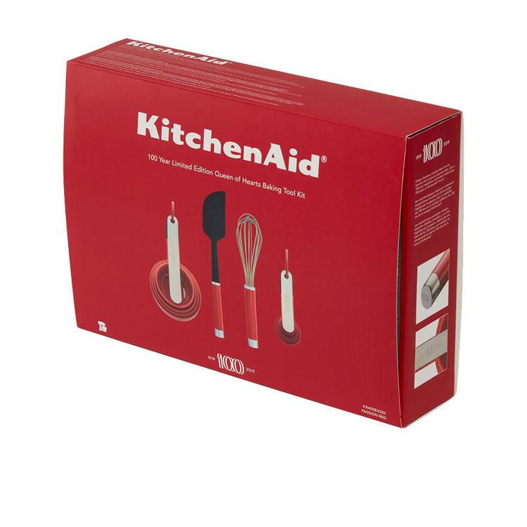 KitchenAid 100 Year Baking Utensil Set Queen of Hearts