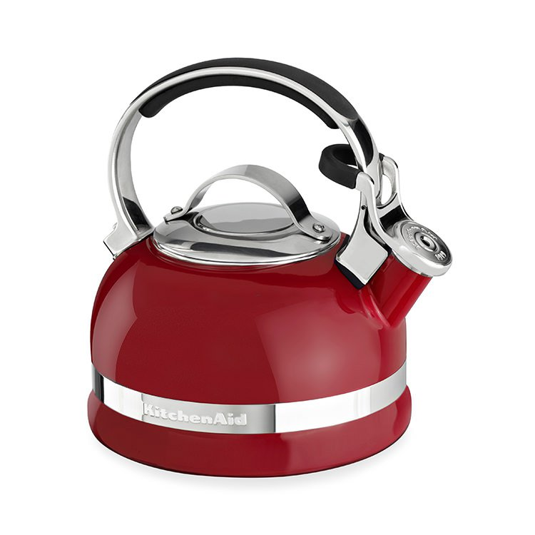 KitchenAid Stovetop Kettle 1.9L Empire Red - Fast Shipping on breville kettle, braun kettle, bodum kettle, whirlpool kettle, krups kettle, oster kettle, philips kettle, pfaltzgraff kettle, smeg kettle, delonghi kettle, cuisinart kettle, panasonic kettle, wolfgang puck kettle, alessi kettle, sunbeam kettle, le creuset kettle, lodge kettle, kenwood kettle, morphy richards kettle, bosch kettle,