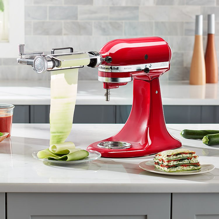 Kitchenaid Vegetable Sheet Cutter Attachment Fast Shipping