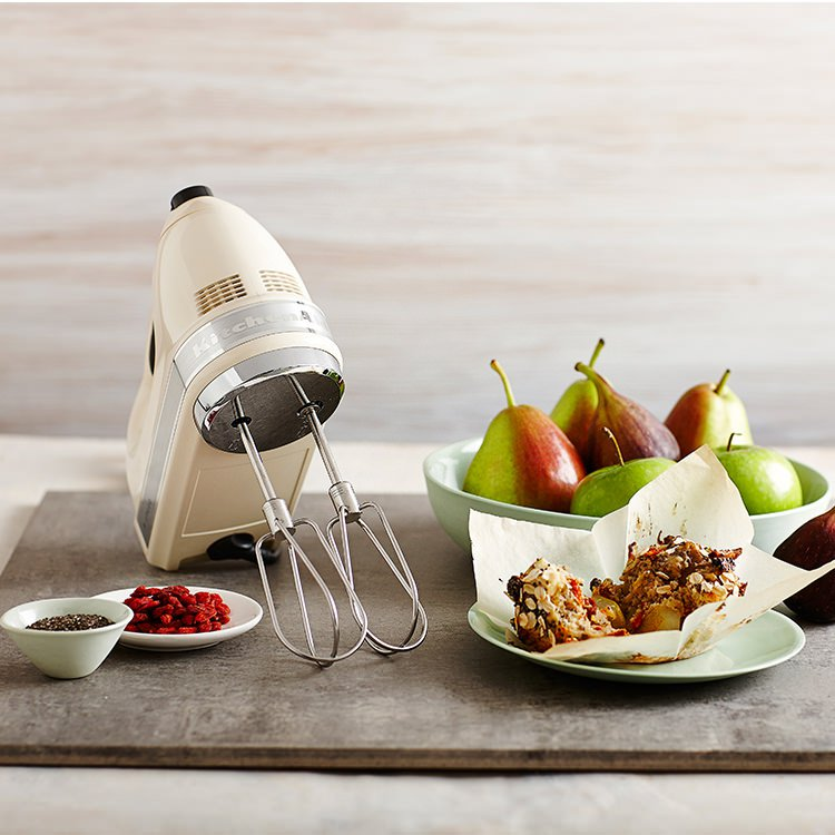 KitchenAid Artisan 9 Speed Hand Mixer Almond Cream