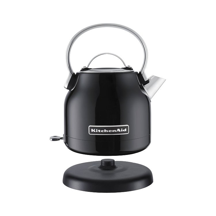 Black Kitchenaid Kettle: KitchenAid Artisan KEK1222 Kettle 1.25L Onyx Black
