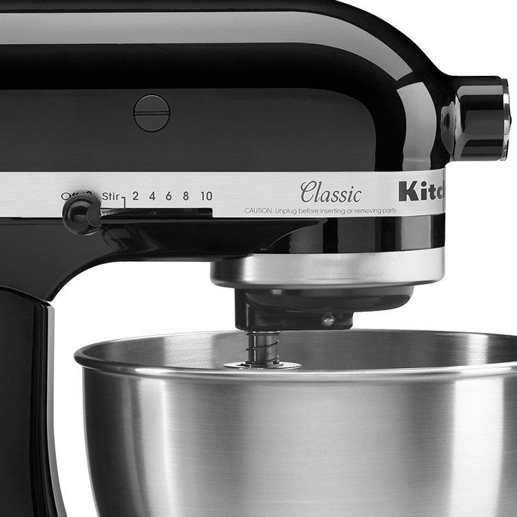 Kitchenaid Classic Mixer Sale ~ Kitchenaid classic ksm stand mixer onyx black fast