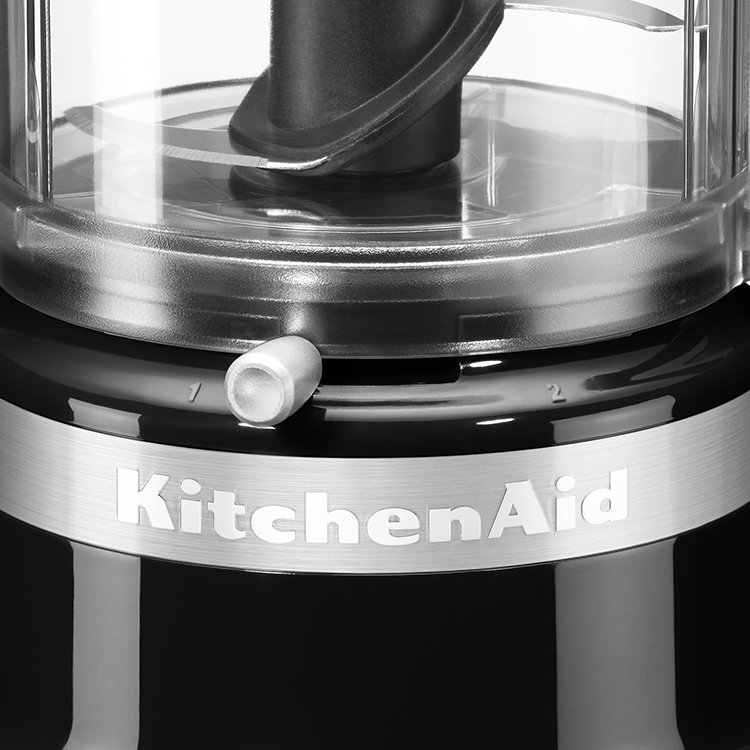 KitchenAid 3.5 Cup Mini Food Chopper Onyx Black image #2