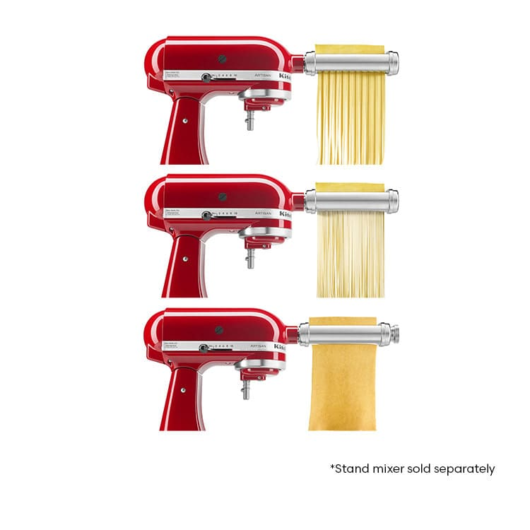 Kitchenaid Pasta Roller Attachment Set 3pc Fast Shipping