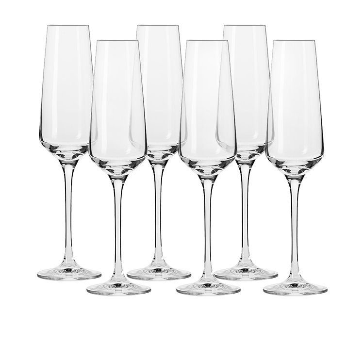 Krosno Avant Garde Champagne Flute 180ml Set of 6