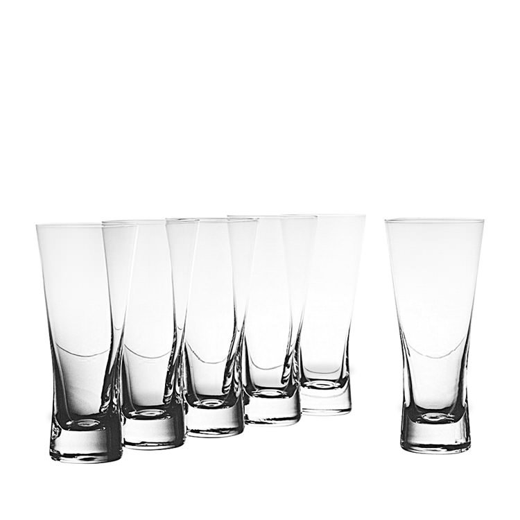 Krosno Copenhagen Hi-Ball Glass Set of 6