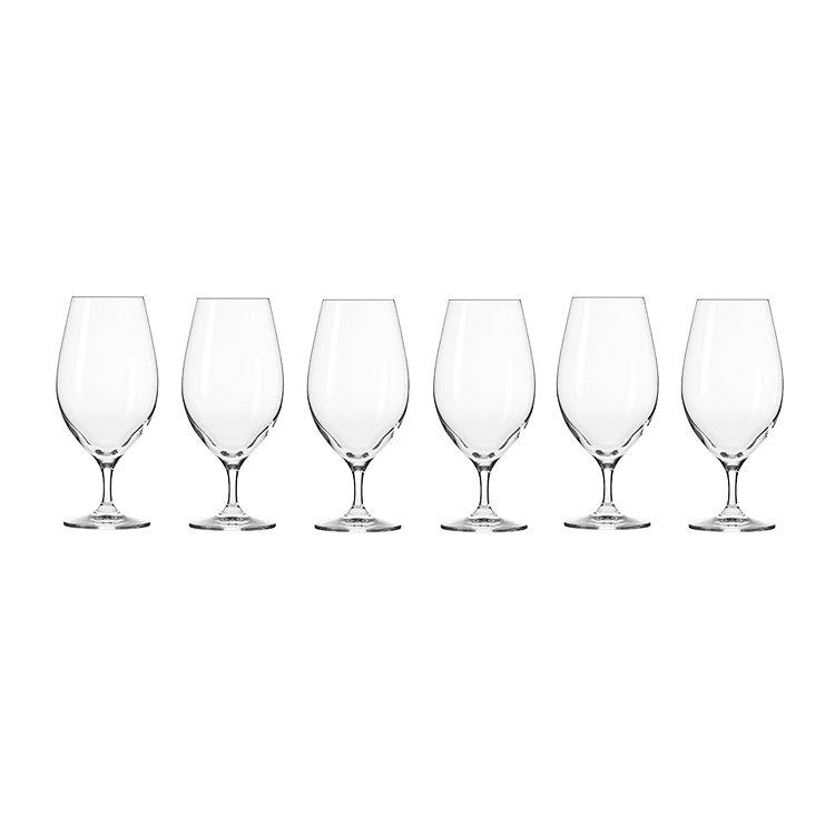 Krosno Harmony Beer Glass 400ml Set of 6 image #2