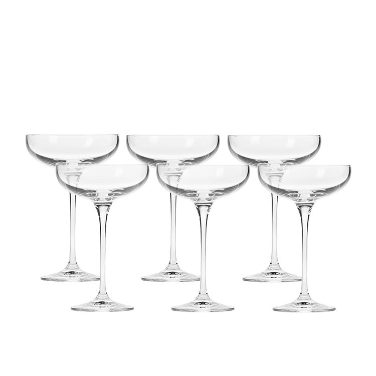 Krosno Harmony Champagne Coupe 240ml Set of 6